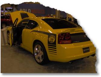 2007 Dodge Charger rear view