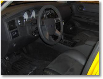 2007 Dodge Charger interior view