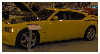 2007 Dodge Charger side view
