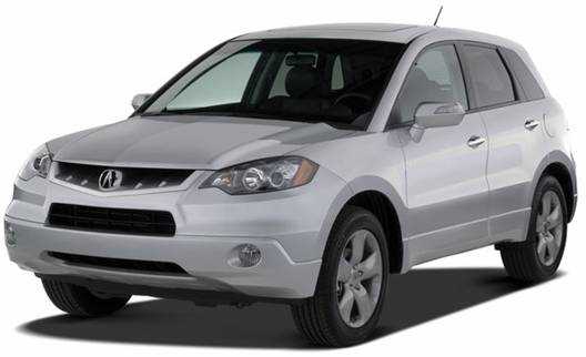 2007 Acura RDX (front view)