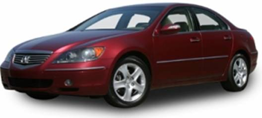 2007 Acura RL (front view)