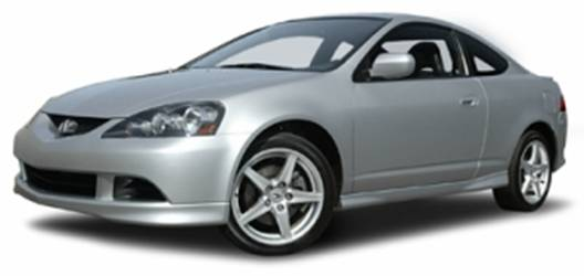 2007 Acura RSX (front view)