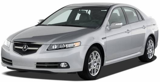 2007 Acura TL (front view)