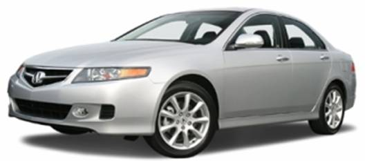 2007 Acura TSX (front view)