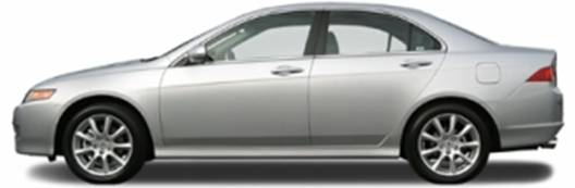2007 Acura TSX (side view)