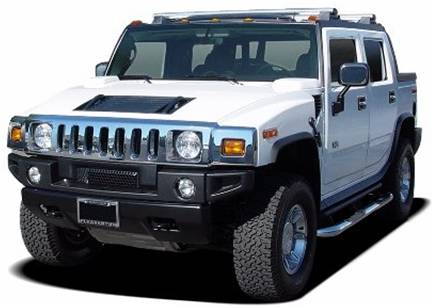 2007 HUMMER H2 SUT Review and Pictures