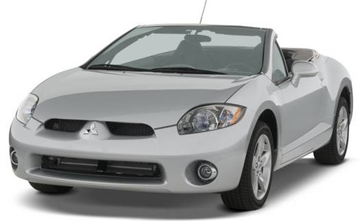 2007 Mitsubishi Eclipse Spyder Review and Pictures
