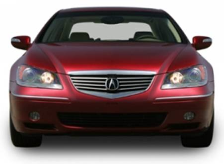 2007 Acura RL Review and Pictures