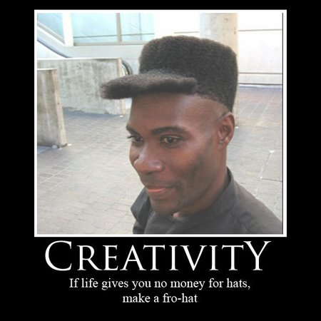 Man Cuts Hair To Look Like A Ball Cap