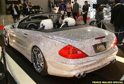 Diamond Covered Mercedes?