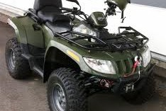 Arctic Cat 400 4 Wheeler 4X4 ATV No Spark