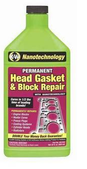 K&W Engine Block Sealer for Head Gasket Leaks