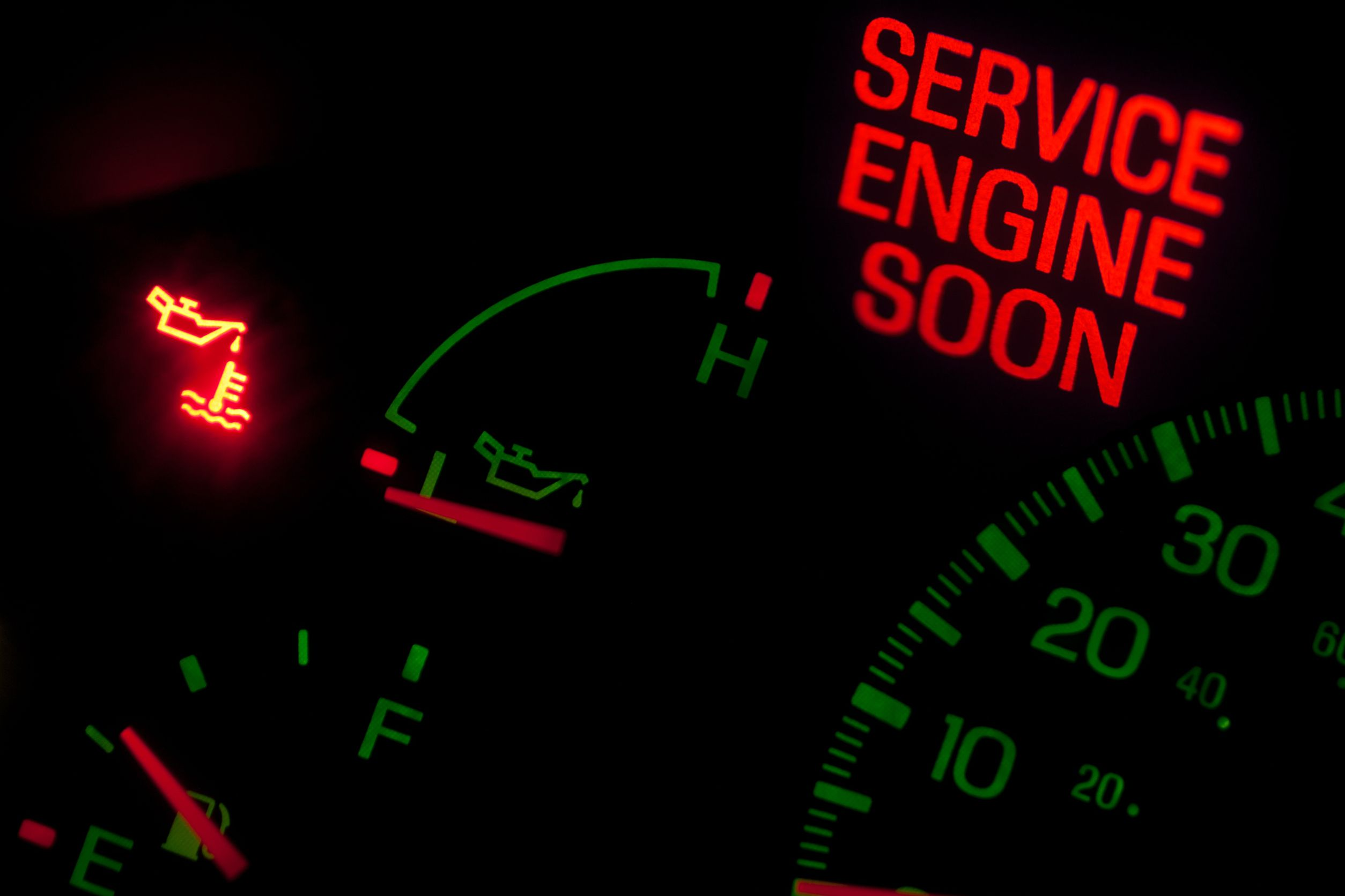 Service Engine Soon Light Stays On