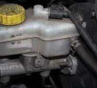 car leaking brake fluid