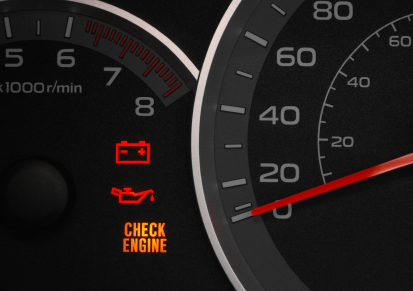 Check Engine Light Flashes