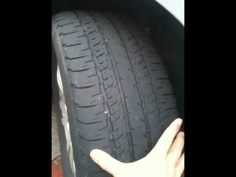 Tire Wear Problems and Symptoms